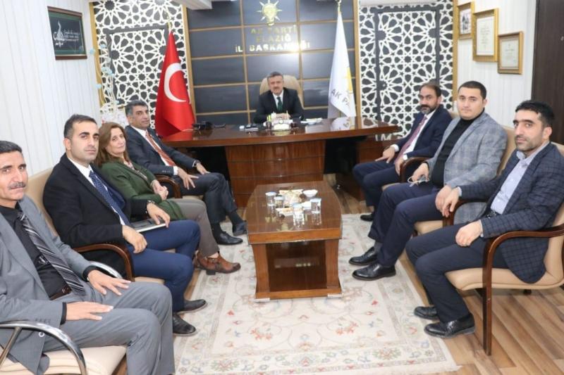 CHP'li Erol'dan, MHP VE AK Parti'ye ziyaret